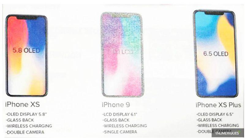 次期iPhoneの名前は「iPhone XS、XS Plus、iPhone 9」? とても怪しい画像で噂。