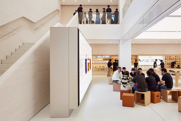 『Apple 京都』の画像が公開。25日にオープンです(*`・ω・)ゞ。