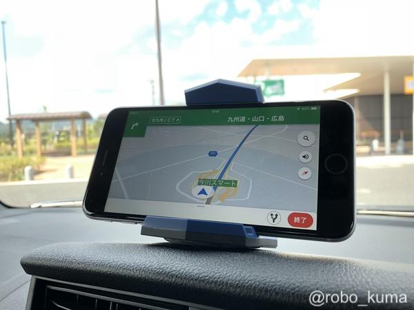 SIMなしの「iPhone 6 Plus」をナビゲーションとして使う。