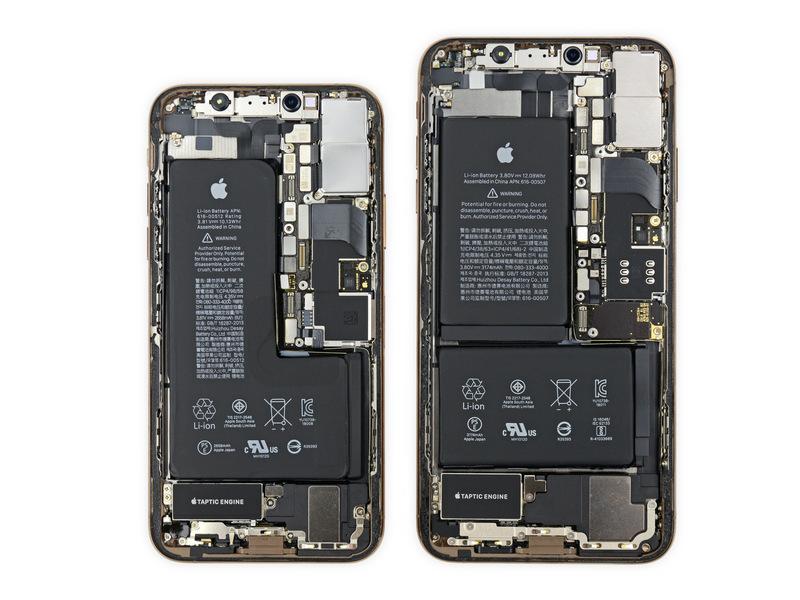 『iPhone XS、XS Max』発売開始(*`・ω・)ゞ。早速、iFixit が分解レポートを報告です。