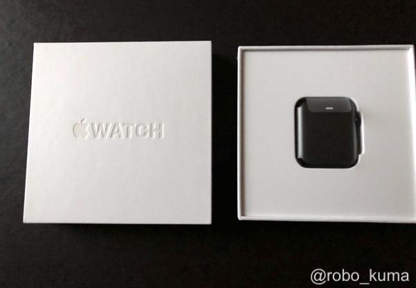 約2年間使用した「Apple Watch SERIES 2 Nike+」を『エクスプレス交換サービス』で使用して交換しました。