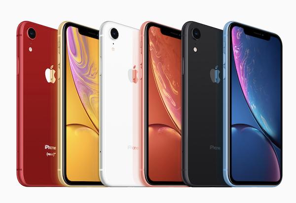 「iPhone XR」発売開始です。6色の美しいiPhoneです(*`・ω・)ゞ。