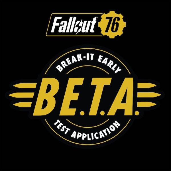 【ゲーム】 『Fallout 76』 B.E.T.A.(βテスト)が明日から開始です(*`・ω・)ゞ。アプリをダウンロード中・・・96GBもある!