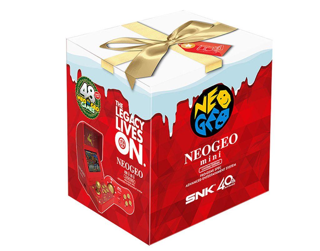 まさかのクリスマス仕様。「NEOGEO mini クリスマス限定版」が近日登場です(*`・ω・)ゞ。商売が上手いよSNKさん。
