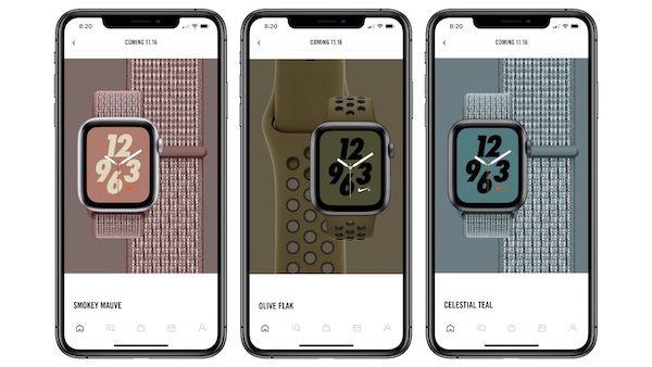「Apple Watch Nike+」用の新型スポーツループ、スポーツバンドのカラーが発売予定(*`・ω・)ゞ。欲しい。