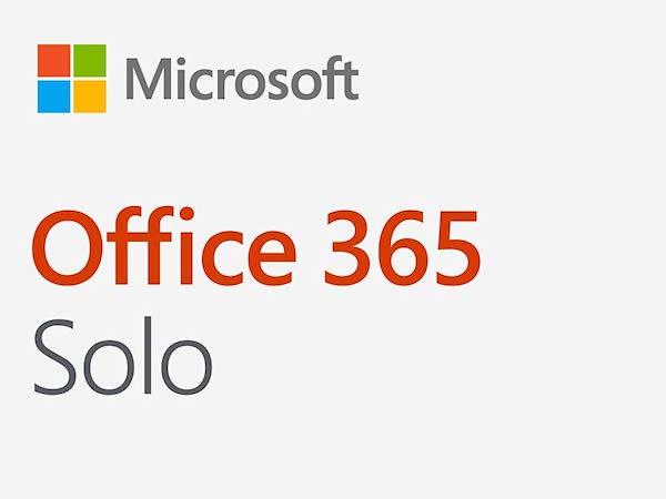 今年も実施です。買うならサイバーマンデーまで待て! Microsoft 「Office 365 Solo」購入で3,000円キャッシュバックキャンペーンを開催中です。