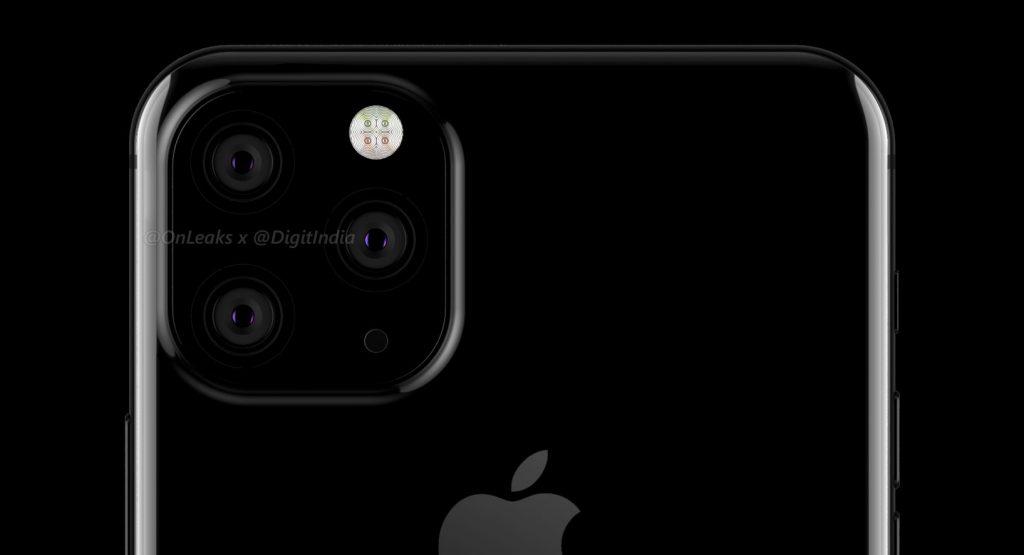 流石にコレジャナイ系デザイン。2019年モデル iPhoneはトリプルレンズ背面カメラ搭載。の予想レタリング画像が公開。