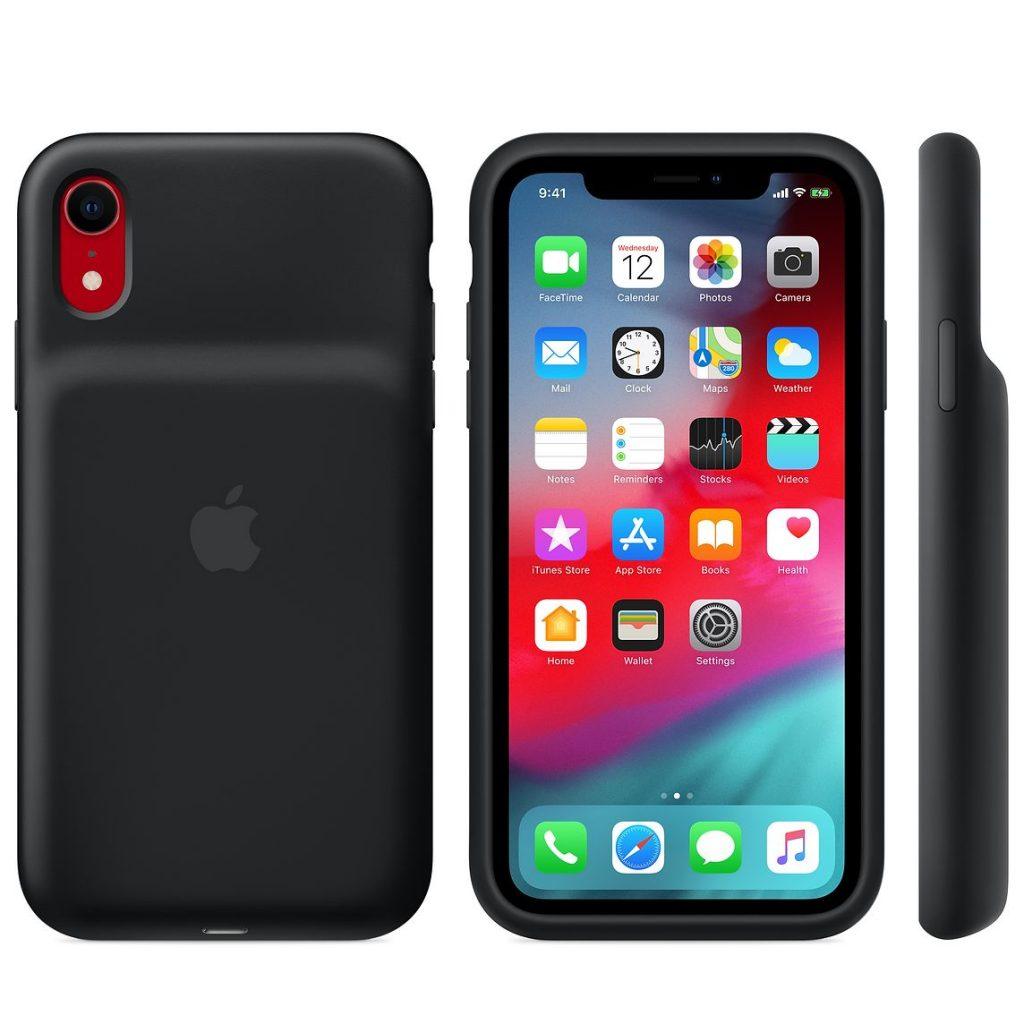 iPhone XS、XS Max、XR用 Apple純正「Smart Battery Case」の発売開始。全機種ホワイト、ブラックの各2色です(*`・ω・)ゞ。