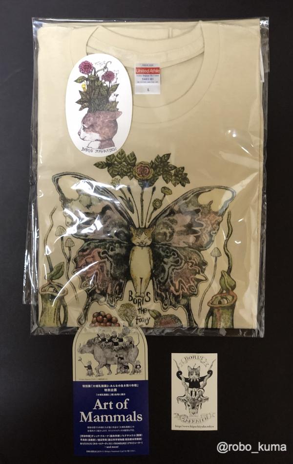 ボリス雑貨店でTシャツ「Boris the Faiiry」を購入(*`・ω・)ゞ。嫁さんとペアルックです。