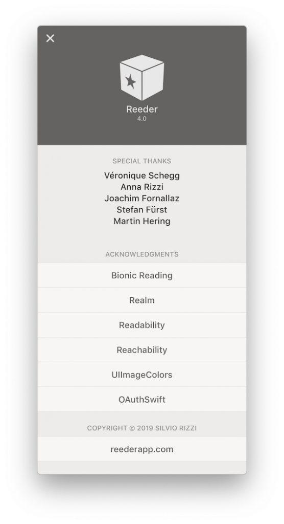 RSSリーダー「Reeder 4」が正式リリース。Mac版、iOS版共に発売です(*`・ω・)ゞ。