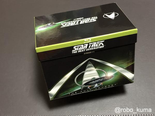 テレビ版「Star Trek: The Next Generation(邦題:新スタートレック)」Blu-ray BOX 購入。全178話が約1万円で観られる( ´艸`)。でも、品質に注意。