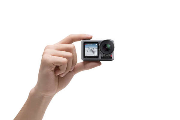 DJI 「Osmo Action」を発表。デュアルスクリーンと映像ブレ補正RockSteadyを搭載。対GoProがキタ!