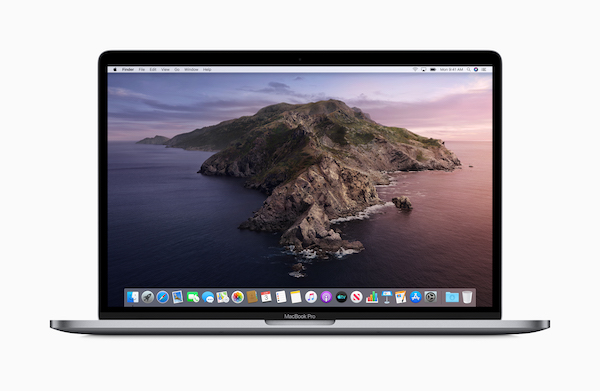 「macOS Catalina beta 1」でのアプリケーション動作情報。2019年6月15日。