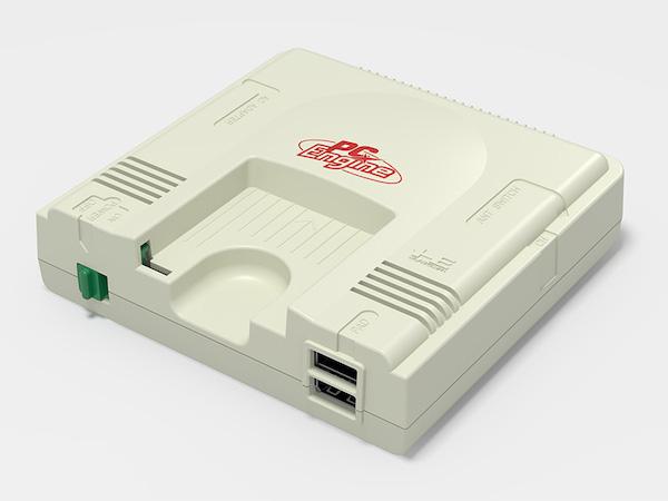 ミニ復刻ゲーム機しんがり、「PCエンジン mini」がコナミより発売決定(*`・ω・)ゞ。発売日、価格は未定。