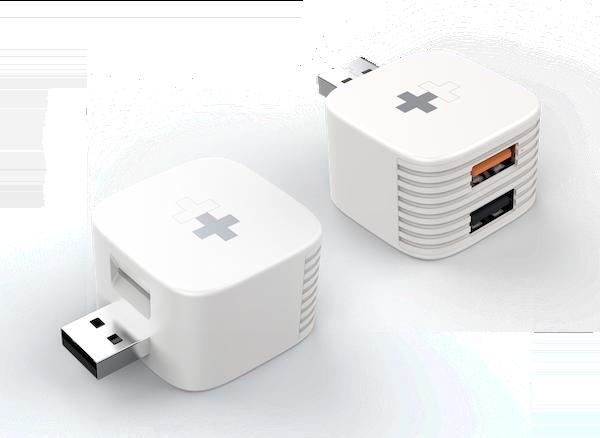 【Kickstarter】 『HyperCube』:フォトバックアップ &充電、 USB ポート for iPhone、iPad、Androidのキャンペーン実施中。繋げるだけで、iPhoneの写真/ビデオ/連絡先を自動バックアップします。