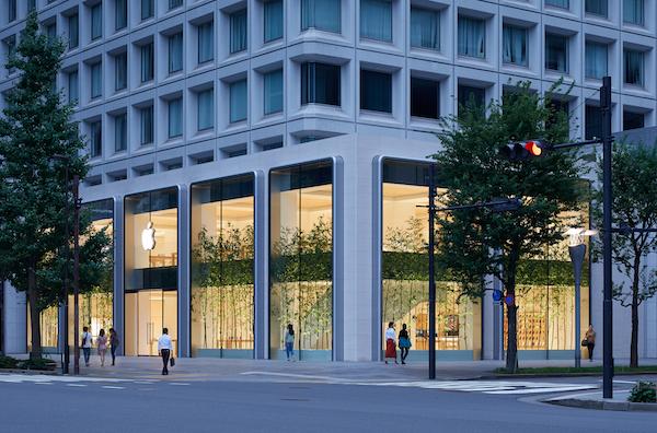 Apple 直営店、「Apple 丸の内」が7日にオープンです。内装、外装を公開。