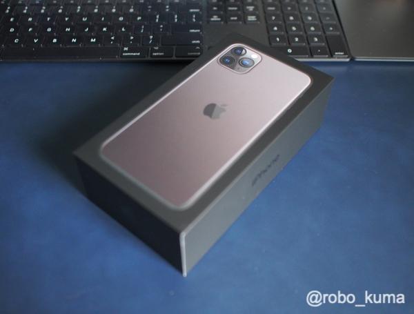 「iPhone 11 Pro Max スペースグレイ」購入。開封してデータ移行です。データ移行に6時間掛かった(*`・ω・)ゞ。