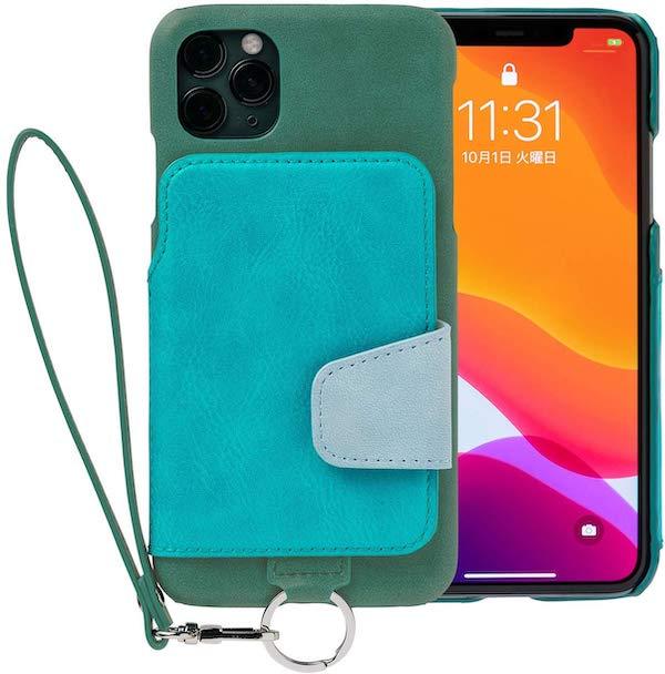 背面手帳型ケース RAKUNI (ラクニ)、iPhone 11 Pro用が発売開始。