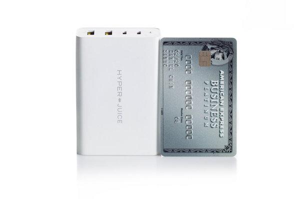 Hyper、世界初(および最小)100W GaN急速充電器をKickstarterでプロジェクト予定。11月11日より。