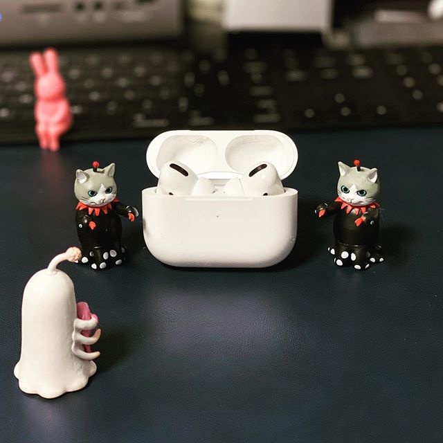 AirPods Pro 結局買っちゃった( ´艸`)。