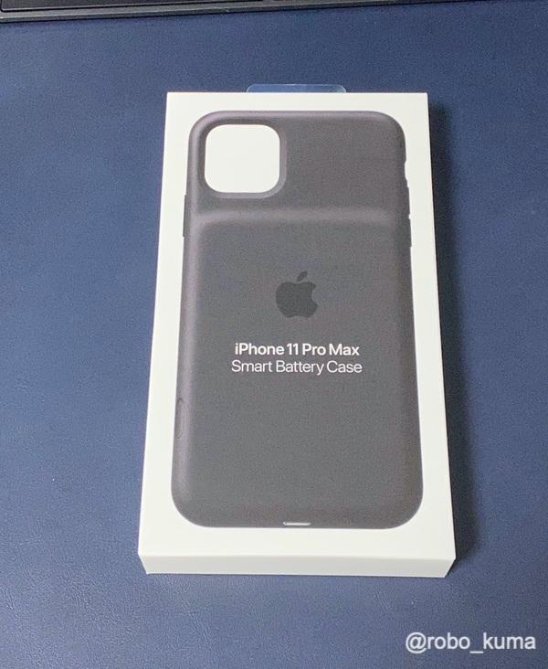 iPhone 11 Pro Max 用「Smart Battery Case」購入(*`・ω・)ゞ。駆動時間もMax!だけど重さもMax!!