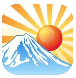 初日の出を観よう! WebやiOSアプリで方向と時間を確認して準備! 簡易ロケハンです(*`・ω・)ゞ。