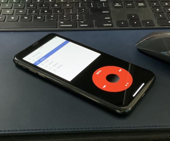 iPhone上でiPod classicをスキンで再現したアプリ「Rewound – Music Player」Apple Storeから削除される。特許侵害がらみかな?