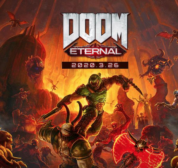 元祖FPSゲームDOOMシリーズ最新作『DOOM Eternal』、発売前トレイラー公開。日本版は2020年3月26日発売です(*`・ω・)ゞ。