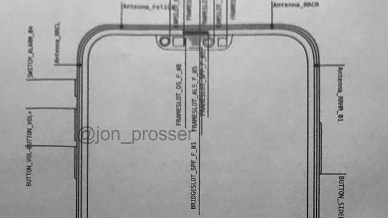 「iPhone 12」はノッチが小型化? ノッチのセンサ部の図面がリーク(噂)。
