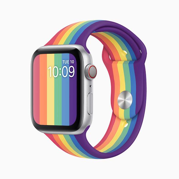 Apple、「Apple Watchプライドエディションバンド 2020」を発表、発売開始開始。今年はNikeモデルもある(*`・ω・)ゞ。