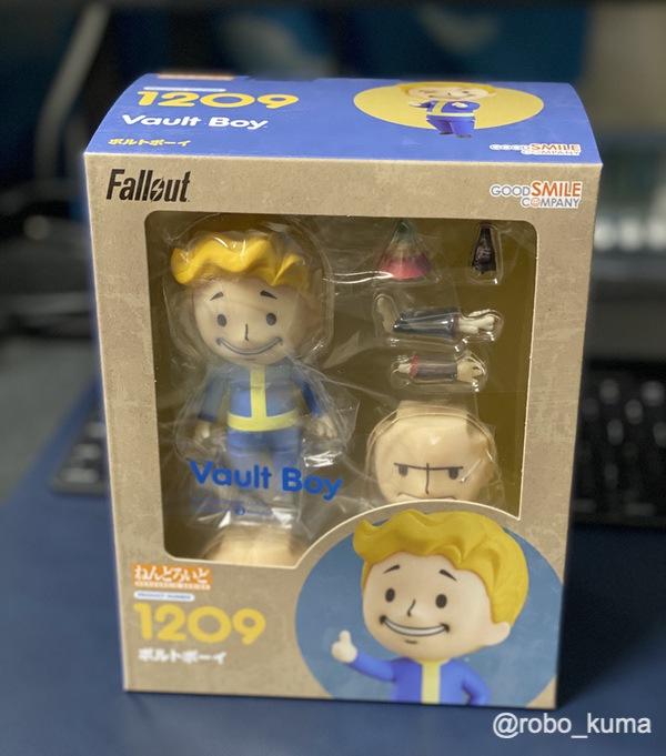 ねんどろいど 「Fallout ボルトボーイ」購入。アメリカンゲームなのに日本製フィギア!
