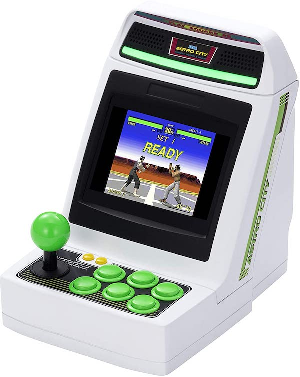 セガ、ゲーセンの筐体をミニサイズで(某NEOGEO miniみたいなw)ゲーム機「アストロシティミニ」の発売を発表。