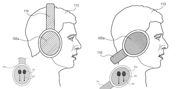 Appleの特許からAppleのオーバーイヤーヘッドホンは「ジェスチャーコントロールと回転検出」の機能が搭載?