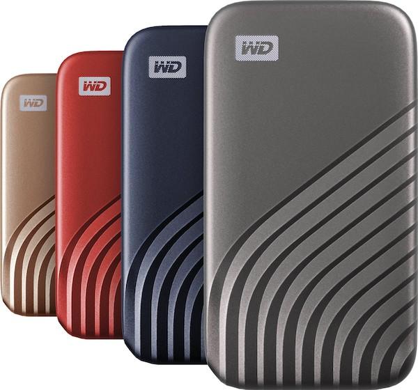 Western Digitalが転送速度最大1050MB/sの新しいNVMe 「My Passport SSD」を米国で発表。カッコイイ!!