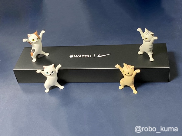 「Apple Watch Series 6 Nike」購入。開封。