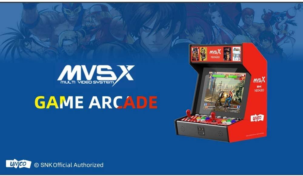 最強のゲーム機! 「SNK ネオジオ MVSX クラシック レトロアーケード」の予約開始。約5万5千円で家がゲーセンです(*`・ω・)ゞ。