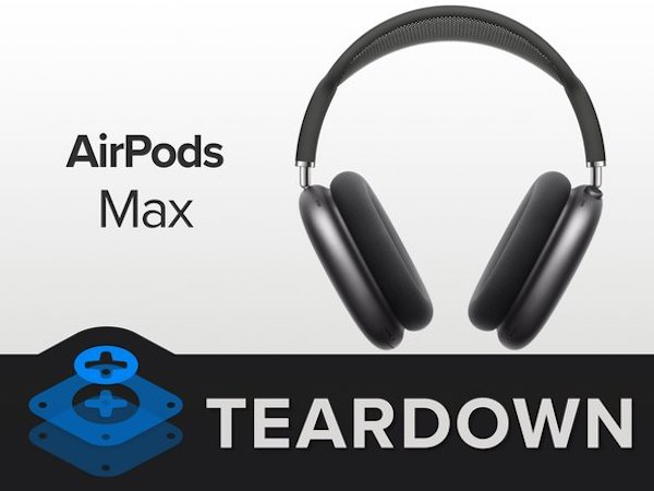 iFixitが早速「AirPods Max」を分解。分解は難しいそうです(まだ評価中)。
