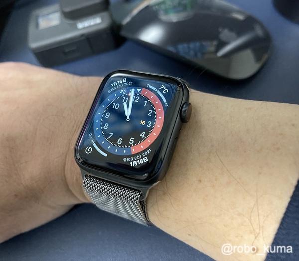 「Apple Watch Series 6 GPS + Cellularモデル」を使用して約3ヶ月して。