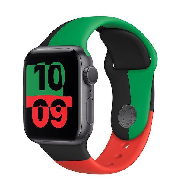 Apple、期間限定「Apple Watch Black Unityアルミニウムケースとスポーツバンド」、「Black Unityスポーツバンド」を発売開始。
