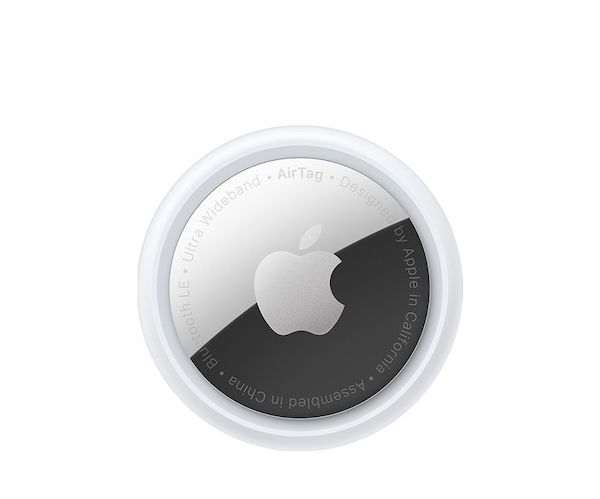 Apple、「AirTag」「iPhone 12、iPhone 12 mini パープル」の販売を開始。AirTag 4個入りを手配しました。