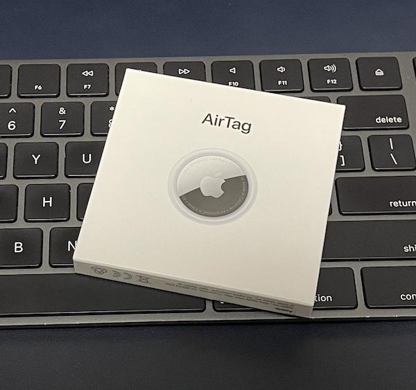 Apple純正の忘れ物タグ、「AirTag」購入(*`・ω・)ゞ。開封、ペアリング。マジ、Appleな碁石!!