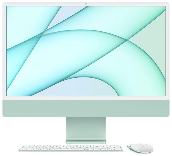 M1チップ搭載の24インチiMacのベンチマークが公開。前世代 iMac 21.5インチより大幅に向上。M1チップ搭載は皆同じ性能。
