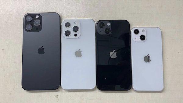 リンカーが「iPhone 13」シリーズのダミーとケースを公開。iPhone 12 シリーズから小さな変更。噂。