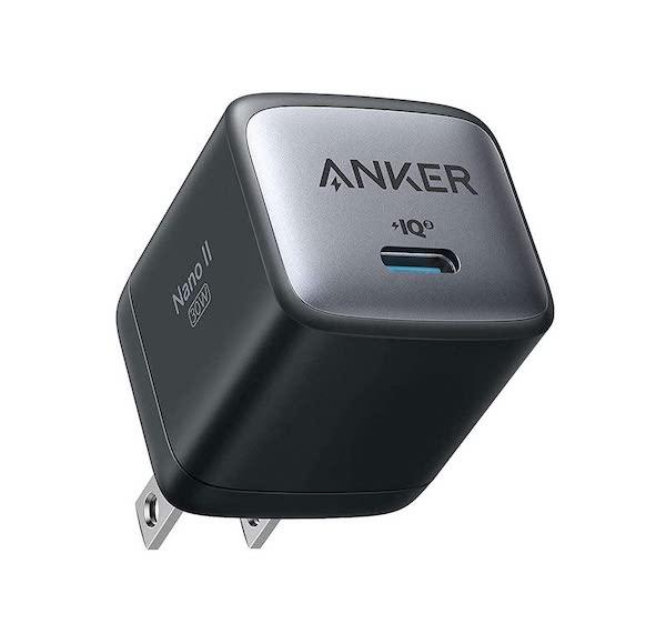 Anker 独自技術のGaN Ⅱ採用充電器、Anker Nano II 30W、65Wの発売を開始。GaN技術が更に進化して小型充電器です(*`・ω・)ゞ。