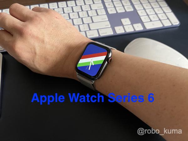 Apple Watch Series 6 を8ヶ月使用したバッテリー状態。