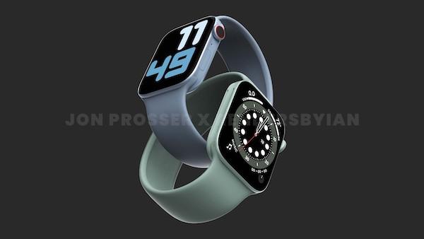 Apple Watch Series 7のケースはサイズが41mmと45mmになる? 噂。