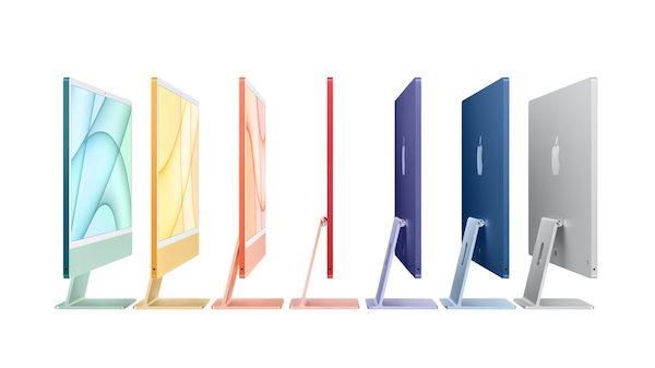 もうすぐ、24インチiMacのオレンジ、イエロー、パープルのモデルも店頭で買える!