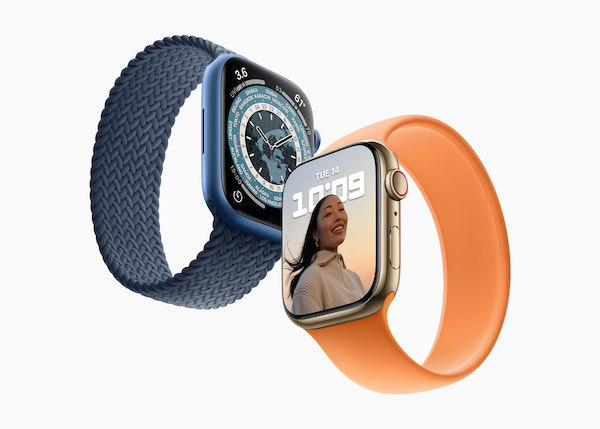 Apple、「Apple Watch Series 7」を10月8日(金)より予約開始、15日(金)より発売開始。